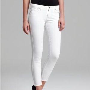 NWOT Genetic denim white jean, size 23